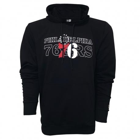 SUDADERA NBA GRAPHIC OVERLAP PHILADELPHIA 76ERS