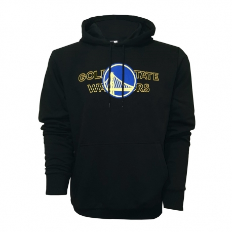SUDADERA NBA GRAPHIC OVERLAP GOLDEN STATE WARRIORS