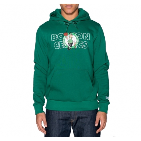 SUDADERA NBA GRAPHIC OVERLAP BOSTON CELTICS