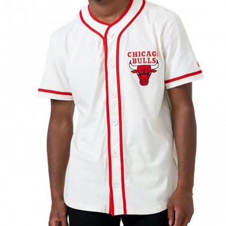 CAMISETA NBA PIPING BUTTON UP CHICAGO BULLS