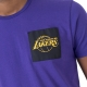 CAMISETA NBA SQUARE LOGO TEE LOS ANGELES LAKERS