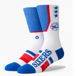 CALCETINES STANCE NBA ARENA SHORTCUT PHILADELPHIA 76ERS