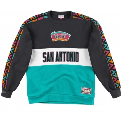 SUDADERA LEADING SCORER FLEECE CREW SAN ANTONIO SPURS