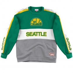 SUDADERA LEADING SCORER FLEECE CREW SEATTLE SUPERSONICS