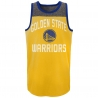 CAMISETA TIRANTES STEEL TANK - GOLDEN STATE WARRIORS (NIÑO)