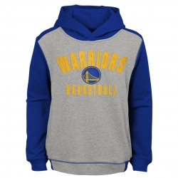 SUDADERA RETRO BLOCK PULLOVER HOODIE -GOLDEN STATE WARRIORS (NIÑO)