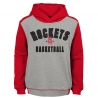 SUDADERA RETRO BLOCK PULLOVER HOODIE -HOUSTON ROCKETS (NIÑO)