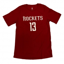 CAMISETA FLAT NAME & NUMBER S/S COTTON TEE- JAMES HARDEN (NIÑO)
