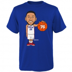 GEEKED UP COTTON TEE - BEN SIMMONS