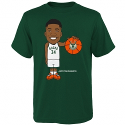 GEEKED UP COTTON TEE - ANTETOKOUNMPO