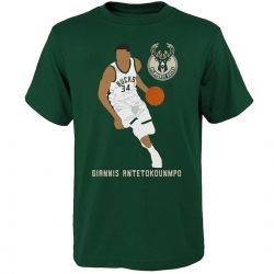 SIMPLE VECTOR COTTON TEE - ANTETOKOUNMPO