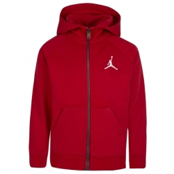 SUDADERA JORDAN JUMPMAN FLEECE FULL ZIP (NIÑO)