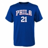 CAMISETA FLAT NAME & NUMBER S/S COTTON TEE- JOEL EMBIID (NIÑO)