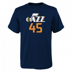 CAMISETA FLAT NAME & NUMBER S/S COTTON TEE- DONAVAN MITCHELL (NIÑO)