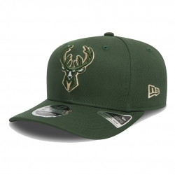 GORRA TEAM STRECH SNAP 9FIFTY MILWAUKEE BUCKS