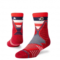 CALCETINES STANCE HOOPS AMERICAN ST QTR