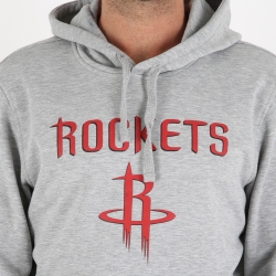 SUDADERA CON CAPUCHA LOGO HOUSTON ROCKETS