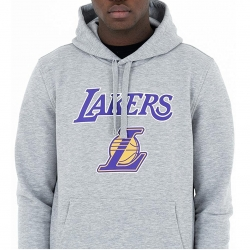 SUDADERA CON CAPUCHA LOGO LOS ANGELES LAKERS