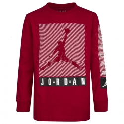 CAMISETA MANAGA LARGA JORDAN JUMPMAN BLINDS (NIÑO)