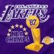 CAMISETA 87 NBA CHAMPS TEE