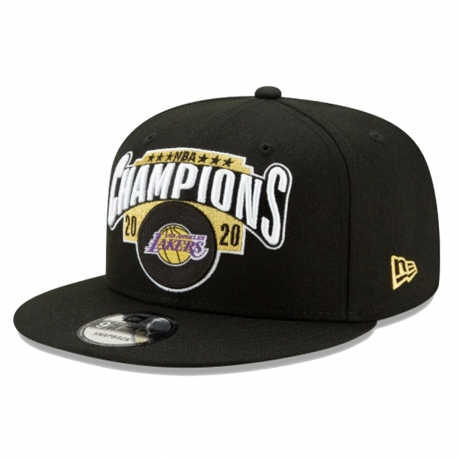 GORRA 9FIFTY CHAMPIONS LOS ANGELES LAKERS LOCKER ROOM