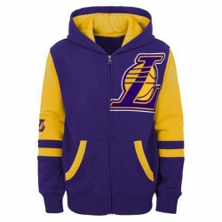 SUDADERA STRAIGHT TO THE LEAGUE FZ HOODIE-LOS ANGELES LAKERS (NIÑO)