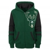 SUDADERA STRAIGHT TO THE LEAGUE FZ HOODIE-MILWAUKEE BUCKS (NIÑO)