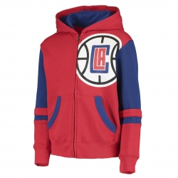SUDADERA STRAIGHT TO THE LEAGUE FZ HOODIE-LOS ANGELES CLIPPERS (NIÑO)