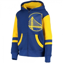 SUDADERA STRAIGHT TO THE LEAGUE FZ HOODIE-GOLDEN STATE WARRIORS (NIÑO)