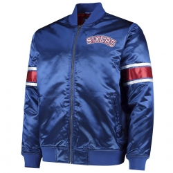 CHAQUETA HEAVYWEIGHT SATIN JACKET PHILADELPHIA 76ERS