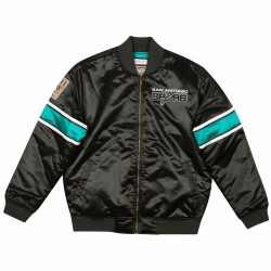 CHAQUETA HEAVYWEIGHT SATIN JACKET SAN ANTONIO SPURS