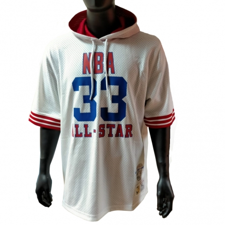NAME AND NUMBER MESH HOODY ASG 1985 EAST - LARRY BIRD