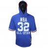 NAME AND NUMBER MESH HOODY ASG 1985 WEST - MAGIC JOHNSON
