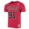 CAMISETA NAME & NUMBER DENNIS RODMAN - CHICAGO BULLS