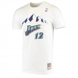 CAMISETA NAME & NUMBER JOHN STOCKTON- UTAH JAZZ