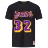 CAMISETA NAME & NUMBER MAGIC JOHNSON - LA LAKERS
