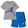 CONJUNTO JORDAN JDB JUMPING BIG AIR TEE & SHORT SET (NIÑO)