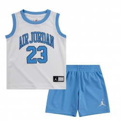CONJUNTO JORDAN MUSCLE TANK AND SHORT 2 PIECE SET (NIÑO)