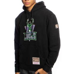 SUDADERA WORN LOGO HOODY-MILWAUKEE BUCK