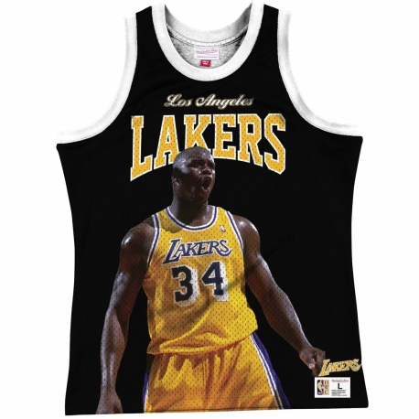 CAMISETA TIRANTES SHAQUILLE O'NEAL LOS ANGELES LAKERS