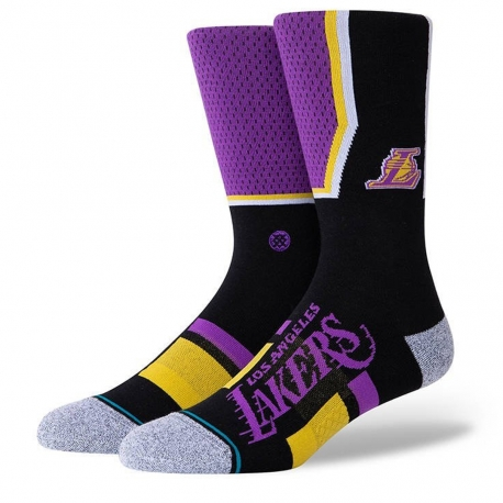 CALCETINES STANCE LOS ANGELES LAKERS SHORTCUT 2