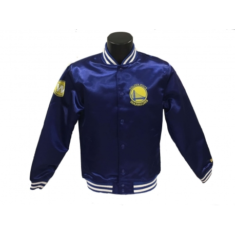 Chaqueta bomber Satin Tip Off Golden State Warriors