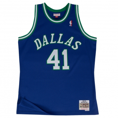 CAMISETA DIRK NOWITZKI 1998-99 DALLAS MAVERICKS