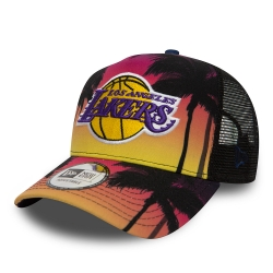 GORRA COASTAL HEAT TRUCKER LOS ANGELES LAKERS