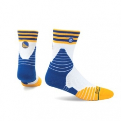 CALCETINES GOLDEN STATE WARRIORS LOGO QTR