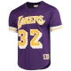 CAMISETA CON MANGAS MAGIC JONHSON LOS ANGELES LAKERS