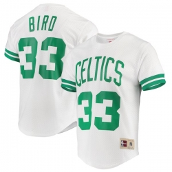 CAMISETA CON MANGAS LARRY BIRD BOSTON CELTICS