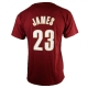 CAMISETA NAME & NUMBER LEBRON JAMES CLEVELAND CAVALIERS