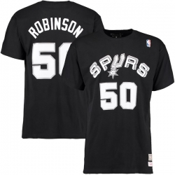 CAMISETA NAME & NUMBER DAVID ROBINSON SAN ANTONIO SPURS