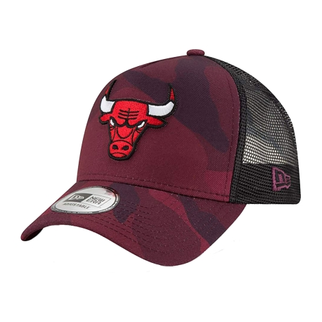 GORRA TRUCKER CAMO CHICAGO BULLS TEAM